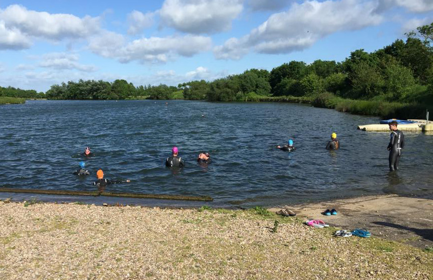 Swimming Open Water